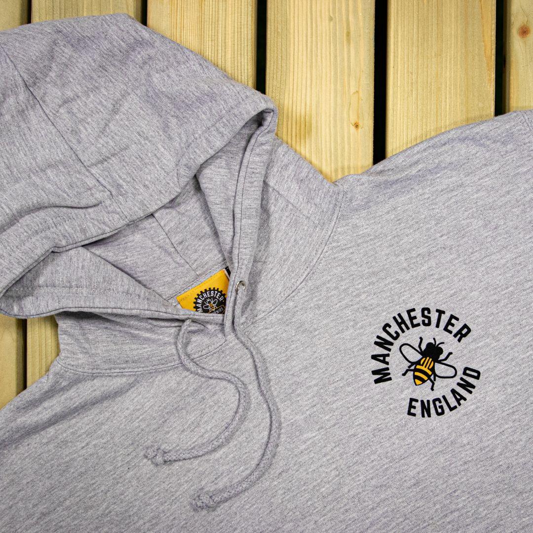 Manchester Bee design hoodie