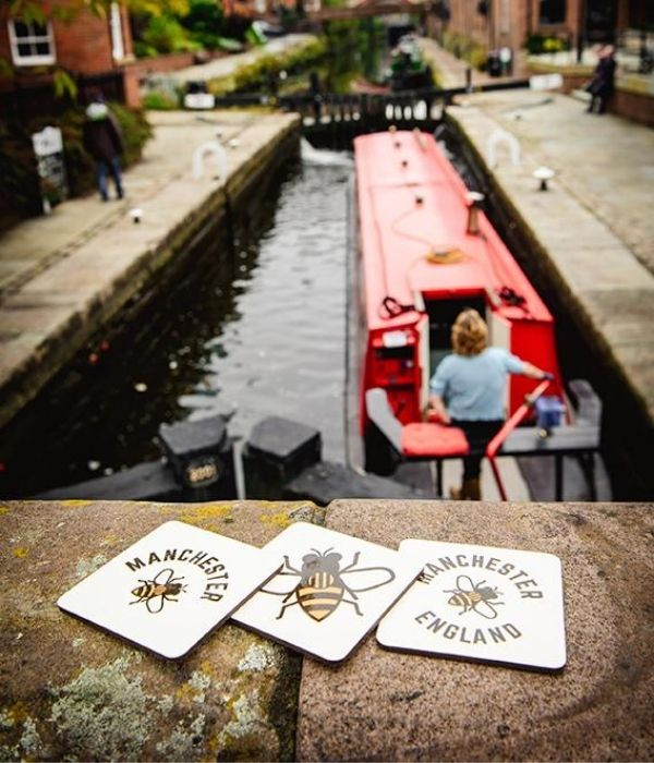 manchester coasters in deansgate