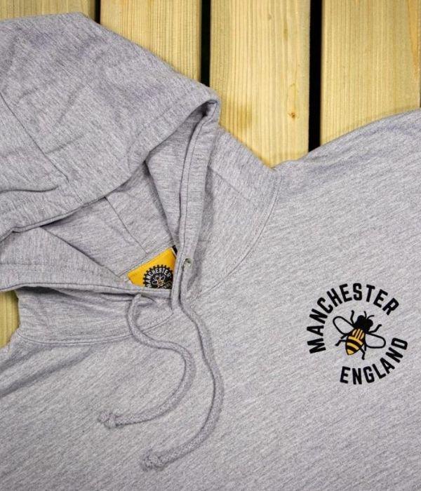 manchester bee hoodie